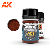 AK Interactive 144 Burnt Rust Red Pigment 35ml
