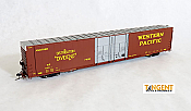 Tangent Scale Models 25022-04 HO - Greenville 86ft Double Plug Door Box Car - WP Original 1964, 1966+ Era #86020