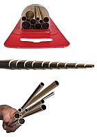 K&S Engineering 3400 All Scale - Small Brass Telescopic Tube Assortment (12 pkg)