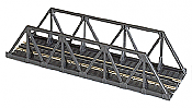 "Atlas Model Railroad 65' Warren Truss Bridge - Kit Nickel Silver 9"" 23cm"