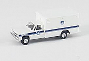 Trident Miniatures 90161 HO Emergency - Chevrolet Box Van w/Pickup Cab - Washington Prison Unit