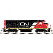 Atlas Model Railroad 40004868 N Scale - GP40-2w Silver DCC Ready - Canadian National-URL Scheme #9590