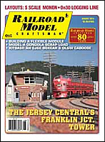 Railroad Model Craftsman Magazine August 2013