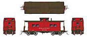 Rapido 144018 - HO Northeastern-style Steel Caboose: Reading - As Delivered Scheme #92928
