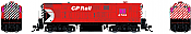 Rapido 044038 HO FM H16-44, Standard DC, Canadian Pacific: Action Red Scheme No.8709