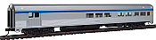 Walthers MainLine HO 30059 85Ft Budd Baggage-Lounge - Ready to Run - Via Rail Canada