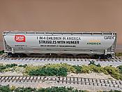 Atlas Model Railroad 20004278 - HO Trinity 5660 Covered Hopper - Conagra (Feeding America-2) #8178