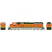 Athearn Genesis G75607 HO - SD60M Diesel Tri-Clops - DCC/Sound - BNSF #9249
