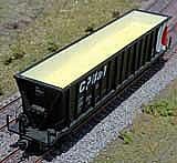 Intermountain Railway Motrak Models 81653 HO Freight Car Loads - Bathtub Gondola - Sulfur