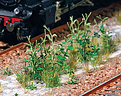 Walthers 1118 HO Scene Master Trackside Weeds  - Kit