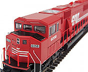 Walthers Mainline 257 - HO Diesel Detail Kit for EMD SD60M