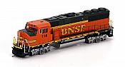 Athearn HO 88851 EMD GP60M, Burlington Northern Santa Fe (Heritage II) #117 - DCC Ready
