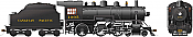 Rapido 602508 HO D10h Canadian Pacific #1095 DC/DCC/Sound Pre-Order coming 2020
