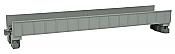 Kato Unitrack 20-452 - N Scale Single Plate Girder Bridge 7 5/16in (186mm) - Gray