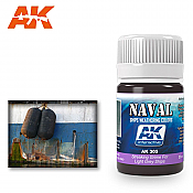 AK Interactive 305 Light Grey Ship Streaking Grime Enamel Paint 35ml