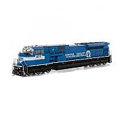 Athearn Genesis G27342 HO Scale - SD80MAC Diesel DCC/Sound - Conrail #4125