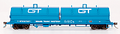 Intermountain Railway 32508-19 HO Scale Evans 100 Ton Coil Car Grand Trunk Western #307053