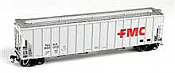 Athearn 81971 HO RTR FMC 4700 Covered Hopper, FMC - NAHX #900022