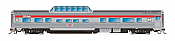 Rapido Trains 550109 - N Skyline Mid-Train Dome Coach - CP Rail, Action Red