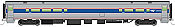WalthersMainline 31053 HO Scale - RTR 85 ft Horizon Food Service Car - Painted, Unlettered