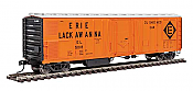 Walthers Mainline 50Ft Post Mechanical Reefer Erie Lackawanna No.5018
