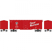 Athearn 73704 HO - RTR 40Ft Youngstown Door Box - Great Northern/ Red #18595