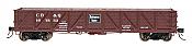 Intermountain Railway 46621-02 HO USRA Composite Drop-Bottom Gondola -Ready to Run- CB&Q - Burlington Route #167624