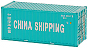Intermountain Railway 40Ft Corrugated Container 2-Pack  China Shipping No 4716166  4949173