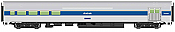 WalthersMainline 30062 HO Scale - RTR 85 ft Budd Baggage Lounge - Amtrak (Phase IV)