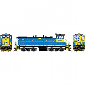 Athearn Genesis G74627 - HO MP15AC - DCC & Sound - Long Island Railroad #163