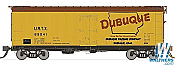 Rapido Trains 121053-2 37ft General American Meat Reefer Dubuque(Large Logo) No.63023