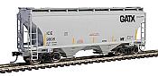 Walthers Mainline 7560 - HO 39ft Trinity 3281 2-Bay Covered Hopper - Iowa, Chicago & Eastern/GATX Logo #9844