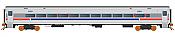 Rapido 128518 - HO Scale Comet Commuter Car - SEPTA Coach no #
