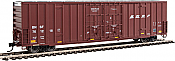 Walthers 2904 HO 60ft High Cube Plate F Boxcar BNSF #761218