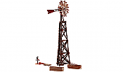 Woodland Scenics HO 5042 Old Windmill - Built-&-Ready Landmark Structures