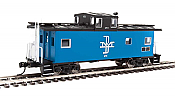 Walthers Mainline 8752 - HO International Wide-Vision Caboose - Boston & Maine #470