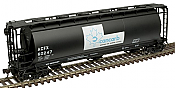 Atlas 20005776 - HO ACF 3-Bay Cylindrical Hopper - Cancarb (ACFX) #60247