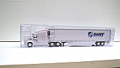 Trucks n Stuff TNS140 - HO Peterbilt 579 Sleeper-Cab Tractor - 53ft Reefer Trailer - Swift Refrigerated