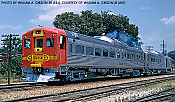 Rapido 16603 HO Scale Budd RDC- 2 Car Set ESU LOKSound DCC/Sound Santa Fe DC-191 DC-192
