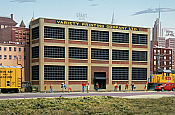 Walthers HO Scale 3161 Variety Printing Background Building