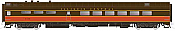 Rapido Trains 124025 HO Scale Pullman-Standard Lightweight Diner Illinois Central #4100 Pre Order