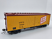 Rapido Trains 121058-1 - HO 37ft General American Meat Reefer - Oscar Mayer (Largo Logo) #66052