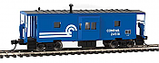 Walthers Mainline 8666 - HO International Bay Window Caboose - Conrail #24518