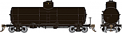 Rapido 159099 - HO Union X-3 Tankcar - Undecorated with AB Brakes
