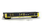 Arrowhead Models - HO Greenville 2494 Gondola - GONX (As Delivered w/White Interior) Railgon #330024