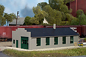 Pikestuff 9 HO Service Garage / Machine Shop