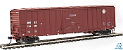 Walthers Mainline HO 2168 50ft ACF Exterior Post Boxcar BNSF No.724943