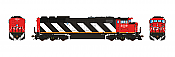 Aurora Miniatures Inc HD1N01D HO - GMD SD60F Diesel - DCC/Sound - CN (Stripes-As Delivered) #5509