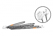 """Woodland Scenics 5761 All Scale Extension Cables - Just Plug Lighting System - 48"""" 121.9cm pkg(2)"""
