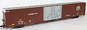 Tangent Scale Models 25031-06 - HO Greenville 86ft Double Plug Door Box Car - Missouri Pacific #271658